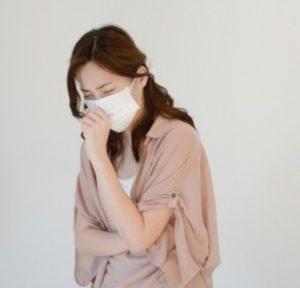 インフルエンザ患者の画像