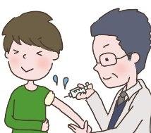 インフルエンザ予防接種の画像