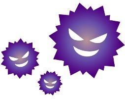 インフルエンザウィルスの画像
