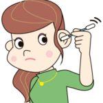 耳掃除の画像